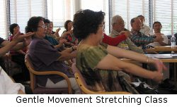 Gentle Movement Stretching Class